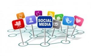 Presencia de una empresa en redes sociales
